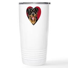 Rottweiler Travel Coffee Mug