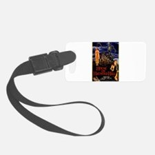 house on haunted hill Luggage Tag