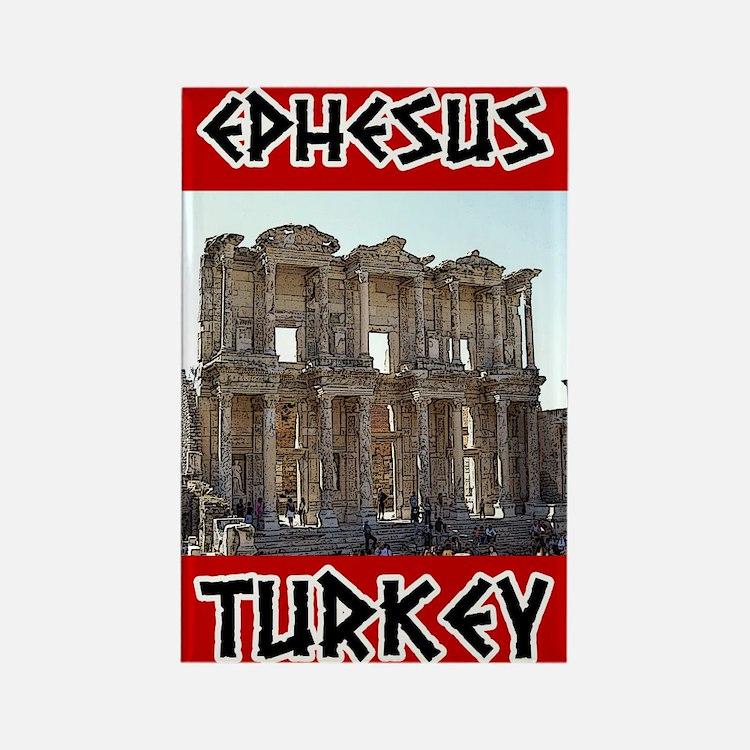 Ephesus Turkey Rectangle Magnet