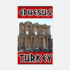 Ephesus Turkey Rectangle Decal