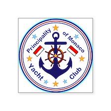 Monaco Yacht Club Sticker