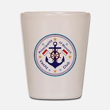 Monaco Yacht Club Shot Glass