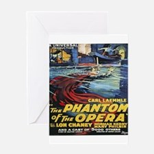 the phantom of the opera Greeting Cards