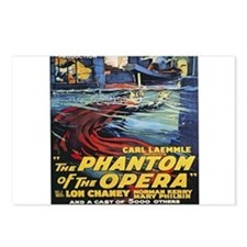 the phantom of the opera Postcards (Package of 8)