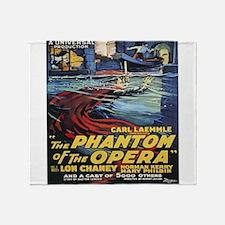 the phantom of the opera Throw Blanket