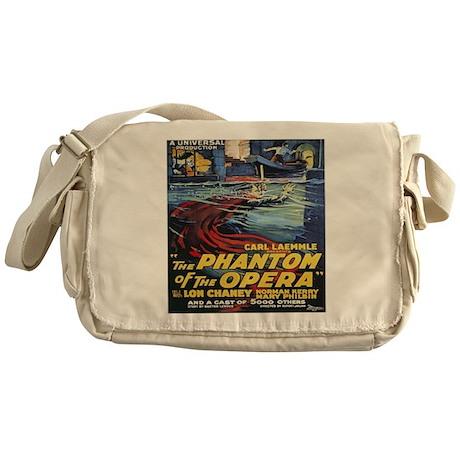 the phantom of the opera Messenger Bag