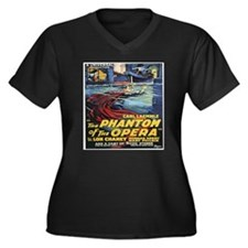 the phantom of the opera Plus Size T-Shirt