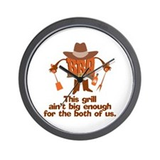 BBQ Gifts & T-shirts Wall Clock
