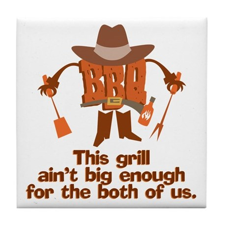 BBQ Gifts & T-shirts Tile Coaster