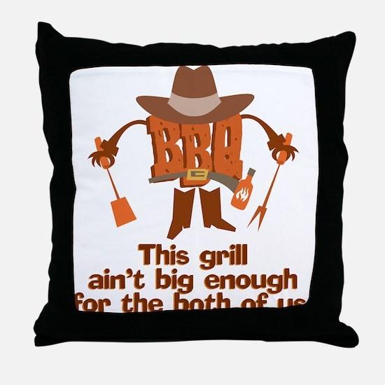 BBQ Gifts & T-shirts Throw Pillow