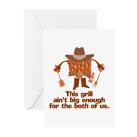 BBQ Gifts & T-shirts Greeting Cards (Pk of 10)