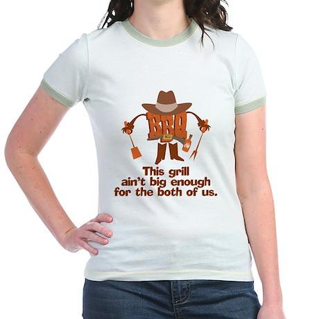 BBQ Gifts & T-shirts Jr. Ringer T-Shirt