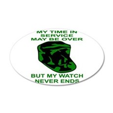 My Watch Never Ends 4 Wall Decal