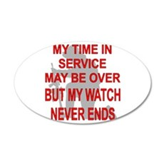 My Watch Never Ends 3 Wall Decal
