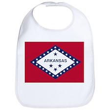 Arkansas State Flag Bib