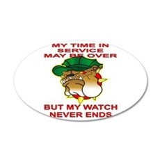 My Watch Never Ends 1 Wall Decal