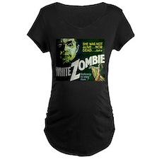white zombie Maternity T-Shirt