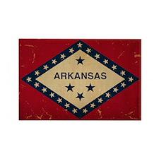 Arkansas State Flag VINTAGE Magnets
