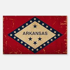 Arkansas State Flag VINTAGE Decal