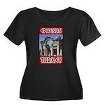Ephesus Turkey Women's Plus Size Scoop Neck Dark T