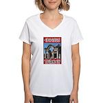 Ephesus Turkey Women's V-Neck T-Shirt