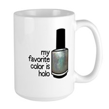 Silver Holo Mugs