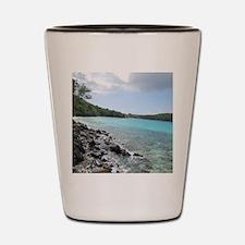 Hawksnest Bay, USVI Shot Glass