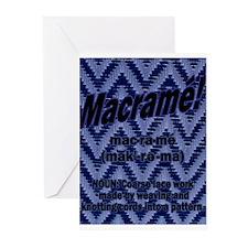 Macrame Wear Greeting Cards (Pk of 10)