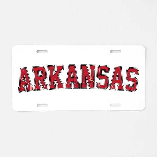 Arkansas - Jersey Aluminum License Plate