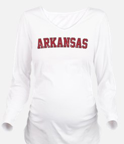 Arkansas - Jersey Long Sleeve Maternity T-Shirt