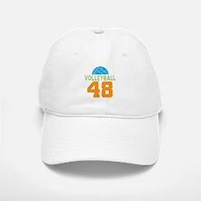 Volleyball player number 48 Baseball Baseball Cap