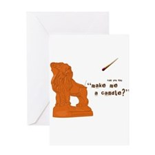 Cute Cancelled fox show Greeting Card