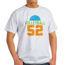Volleyball player number 52 T-Shirt