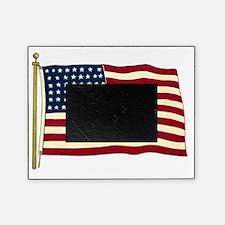 Vintage American Flag Picture Frame