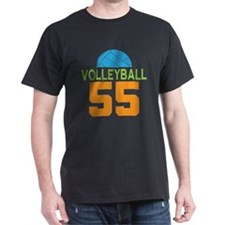Volleyball player number 55 T-Shirt