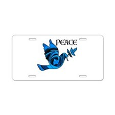 Think Zen Aluminum License Plate