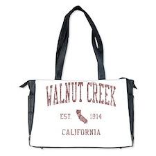 Walnut Creek CA Red Diaper Bag