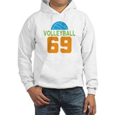 Volleyball player number 69 Hoodie
