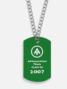 Appalachian Trail Class Of 2007 Dog Tags