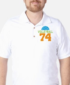 Volleyball player number 74 T-Shirt