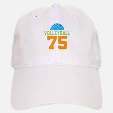 Volleyball player number 75 Baseball Baseball Cap