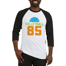 Volleyball player number 85 Baseball Jersey