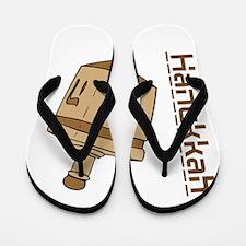 Hanukkah Dreidel Flip Flops