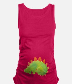 Cute Dinosaur Maternity Tank Top