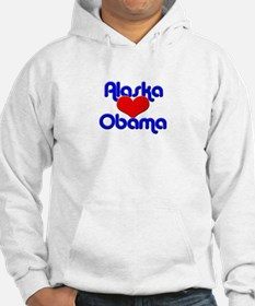 Alaska for Obama Hoodie