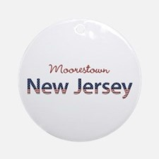 Custom New Jersey Ornament (Round)