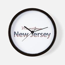 Custom New Jersey Wall Clock