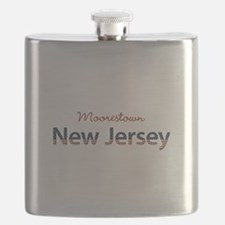 Custom New Jersey Flask