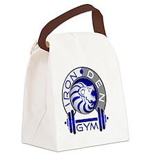 Iron Den Gym Canvas Lunch Bag
