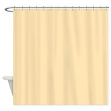 Solid Peach Shower Curtain